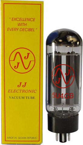 JJ Electronic 5U4 Rectifier Tube - 5U4GB - Available at Lark Guitars