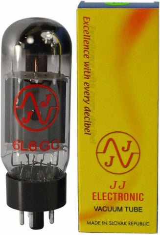 JJ Electronic 6L6 Power Tubes - Matched Quad - 6L6GC