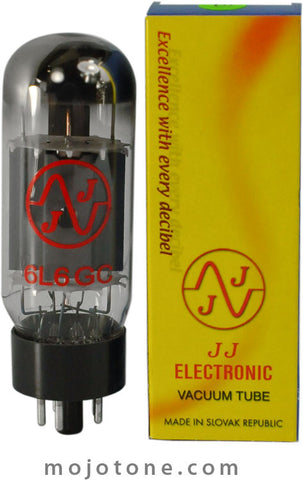 JJ Electronic 6L6 Power Tubes - Matched Pair - 6L6GC