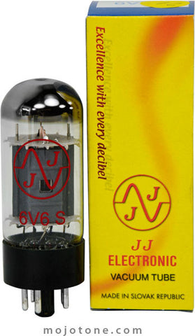 JJ Electronic 6V6 Power Tubes - Matched Pair - 6V6S