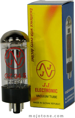 JJ Electronic 5AR4 / GZ34 Rectifier Tube - GZ34S