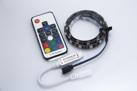Temple RGB LED Light Strip - SOLO 18 - RGB-18 - Available at Lark Guitars