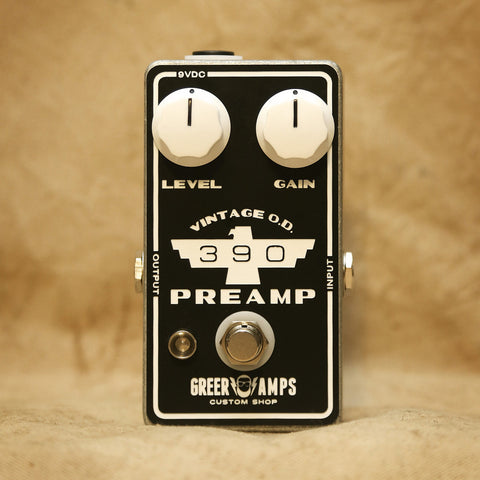 Greer Amps 390 Vintage OD/Preamp, Greer Amps - Lark Guitars