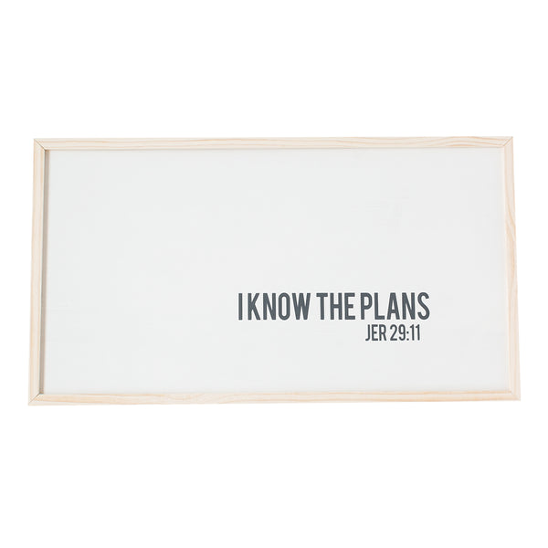I know the plans wooden sign
