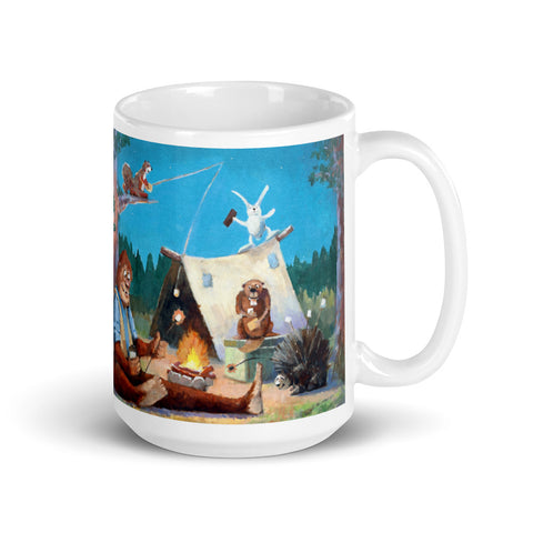Happy Camper Mug - With Text