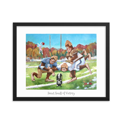 "Sweet Smell of VictoryFramed Poster 16"" x 20"""