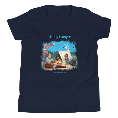 Happy Campers Youth Short Sleeve T-Shirt