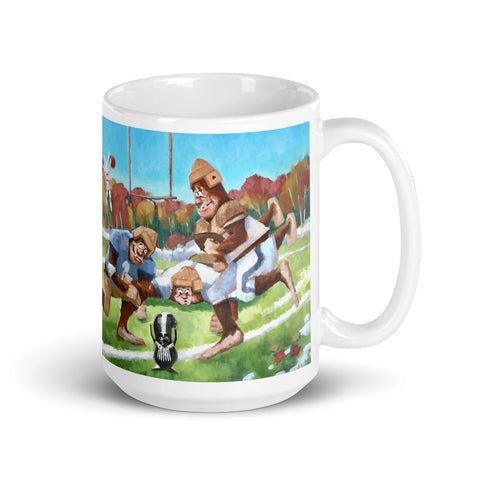 Sweet Smell of Victory Footballers Mug - With Text