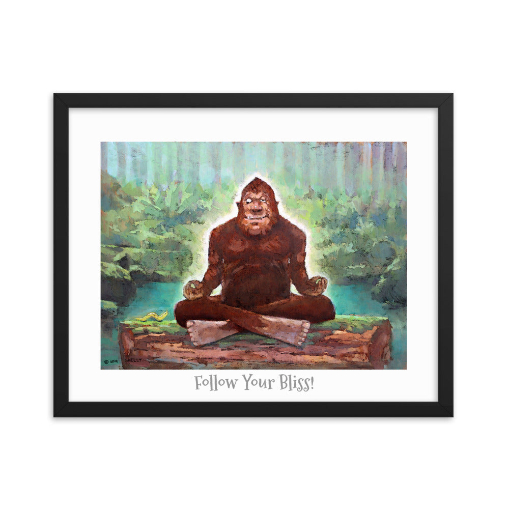 "Bliss Framed poster 16"" x 20"""