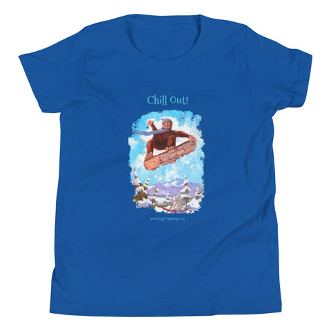 Chill Out Youth Short Sleeve T-Shirt