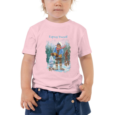 Express Yourself Toddler Short Sleeve Tee