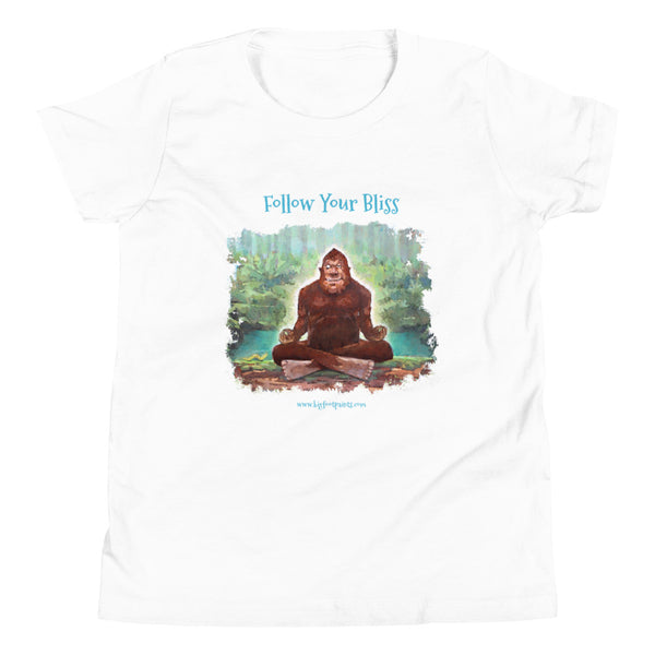 Follow Your Bliss Youth Short Sleeve T-Shirt