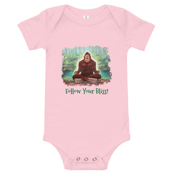 Follow Your Bliss Baby One Piece