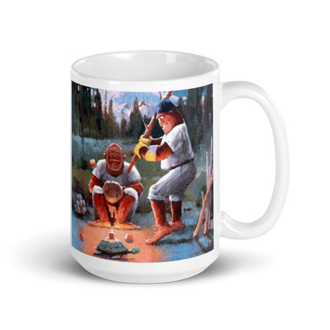 Bigfoot Baseball  Mug - Dual Image