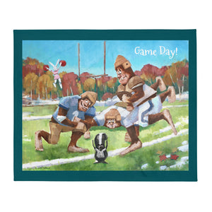 Game Day Throw Blanket