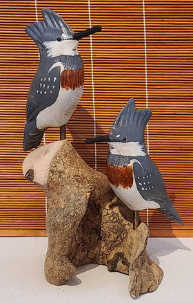 Home Decor - 2 Kingfishers