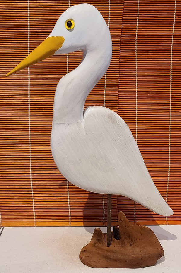 Home Decor - Egret