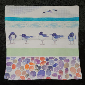 Pillow Cover - Bird Pebbles