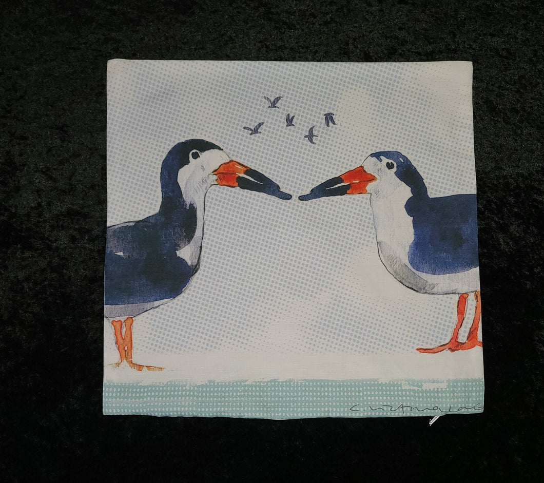 Pillow Cover - Love Birds