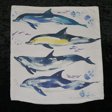 Load image into Gallery viewer, Dolphin Pillow Cover