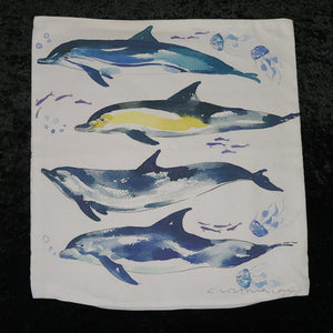 Dolphin Pillow Cover