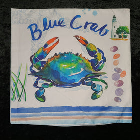 Pillow Cover - Blue Crab