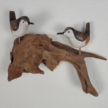 Load image into Gallery viewer, Wall Sculpture - 2 Carolina Wrens