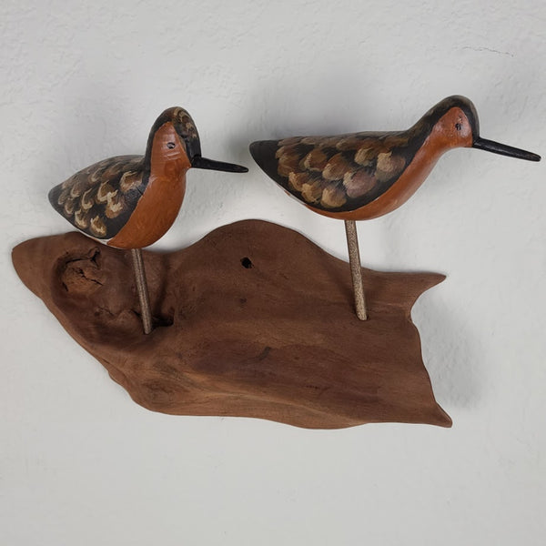 Wall Sculpture - 2 Robin Snipes