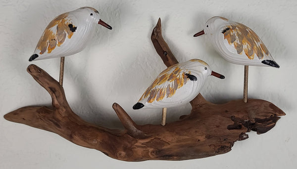 Wall Sculpture - 3 Peeps