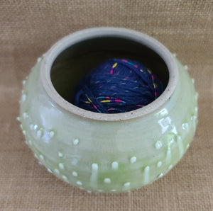 Adorable Ceramic Yarn and String Holder