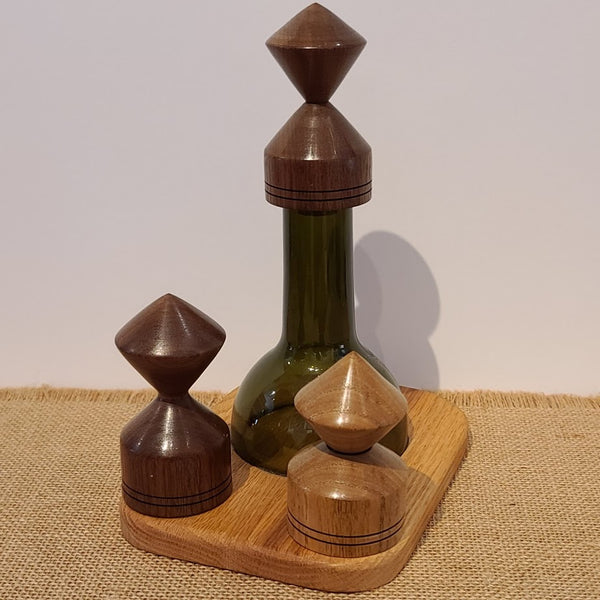 Wine Cork and Wine Neck Stopper Displays