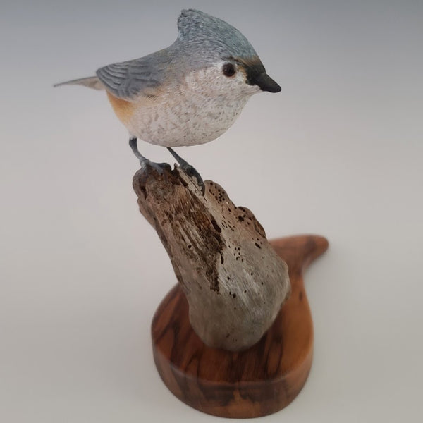 Wood Carving - Titmouse
