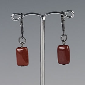 Earrings - Fire Agate