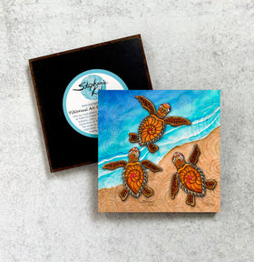 Magnet - 3 Baby Turtles