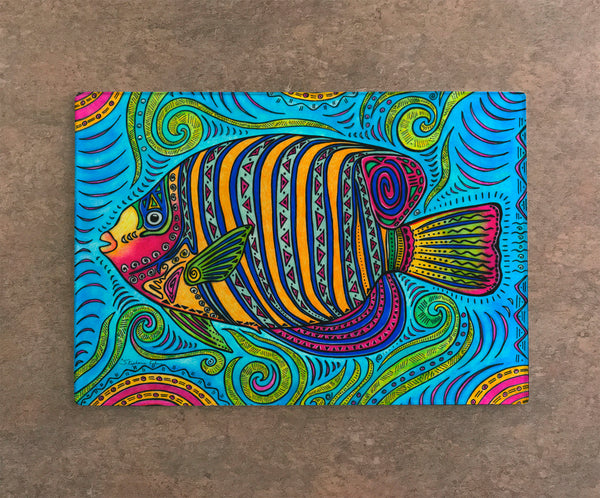 Cutting Board - Angel Fish