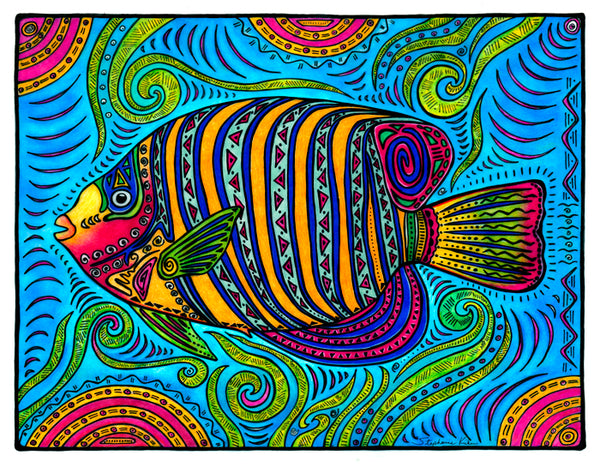Photo Giclee - Angelfish