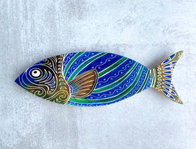 Wall Art - Blue Fish