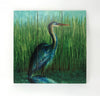 Wall Art Wood Triptychs - Blue Heron