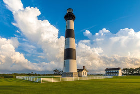 Bodie Island Lighthouse Late Afternoon