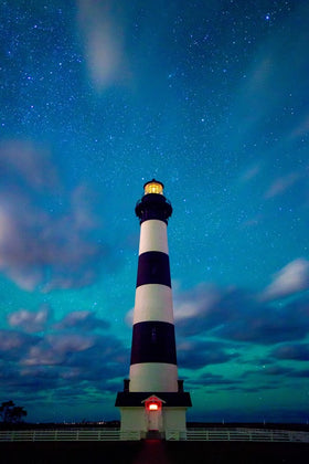 Bodie Island Light At Twilight