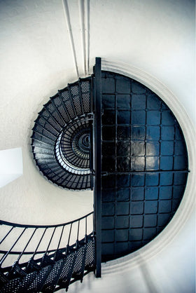 Bodie Island Light Stairwell and Landing