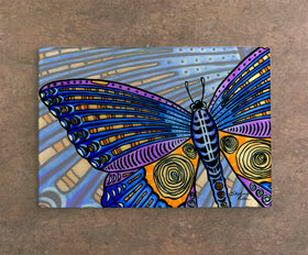 Cutting Board - Butterfly Wings