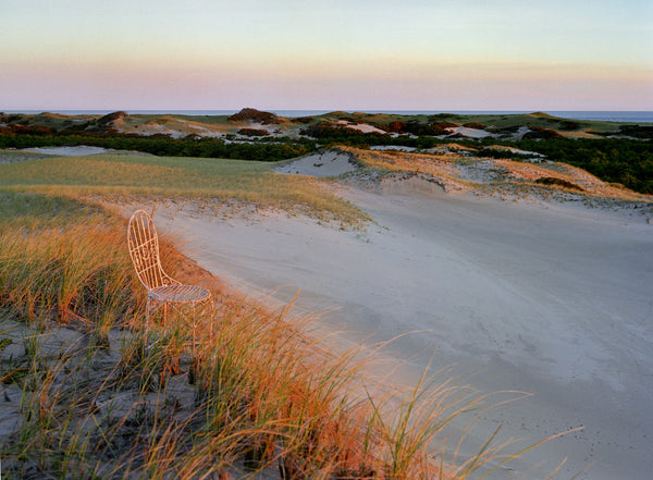 Dawn on Cape Cod with Mrs. Davis' Chair in Massachusetts