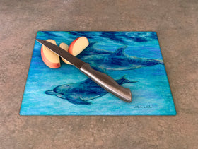 Cutting Board - Dolphin Cruise