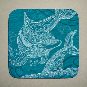 Coasters - Dolphin One Color