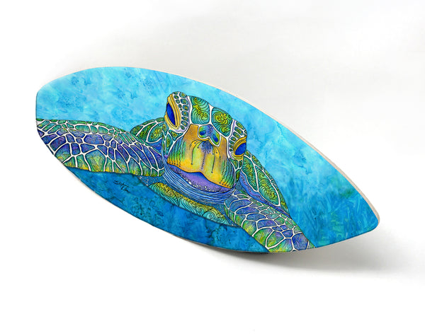 Wall Art Surfboard - Face to Face