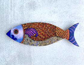 Wall Art - Flower Fish