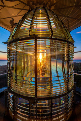 Fresnel Lens In Currituck Light