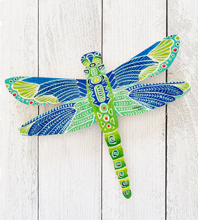Wall Art - Green Dragonfly