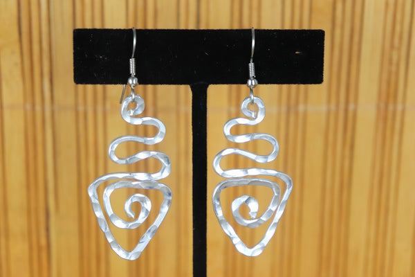 Earrings - Aluminum